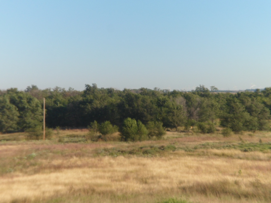 From Home To Home And Back Day 32 Dodge City And Its Hilly Tree Lined Neighbours