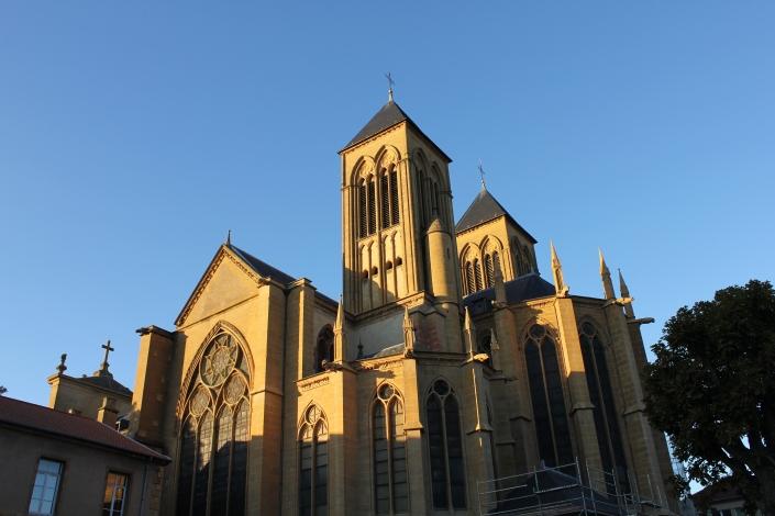 L'Eglise Saint Vincent,Metz