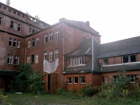 Old rocket factory, Berga