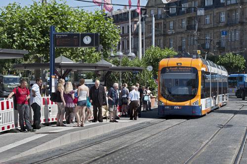 Haltestelle Bismarckplatz wird barrierefrei