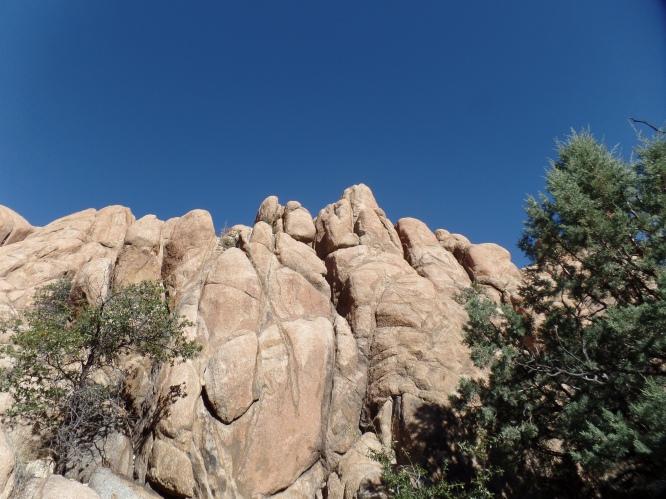 Granite Dells, north of Watson Lake