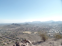Southward view, from summit of Lookout Mountain, Phoenix