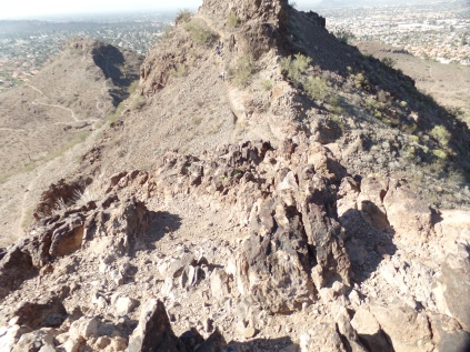 Top of Lookout Mountain, Phoenix