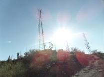 Summit of Shaw Butte, Phoenix