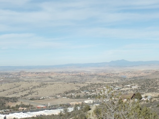 Northward view, from Badger Peak Trail, Prescott