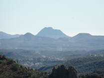 View of Black Canyon City, from point four miles northwest.