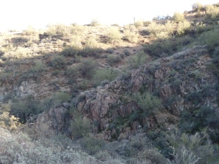 View of Black Canyon, from the west.