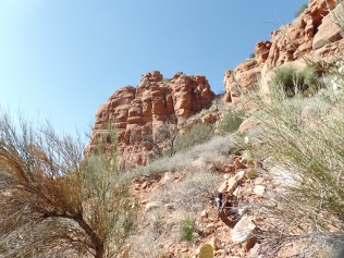 "Sandstone ""castle"", Bell Trail"