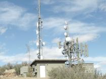 Communications Towers, Badger Peak summit