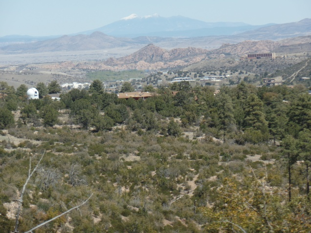 Northeastward view, from Wolverton Mountain Trail, Prescott
