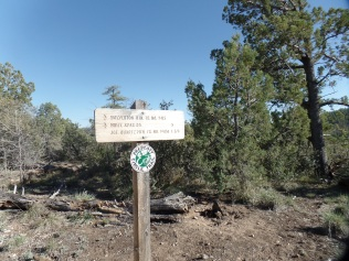 Junction of three trails