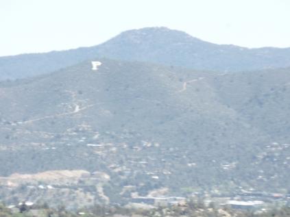 View of Badger Peak, from Javelina Trail, Prescott.